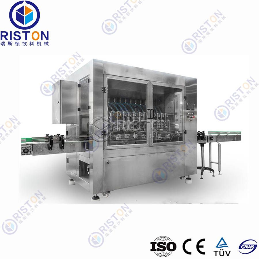Automatic Linear Type Edible Oil Filling Machine Factory