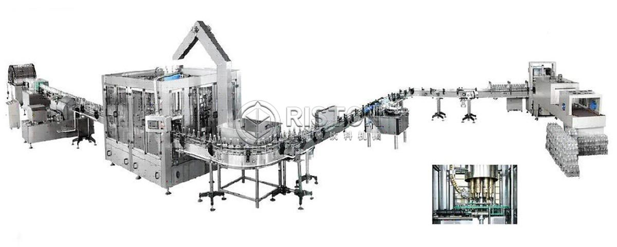 Glass Bottle Carbonated Drink Filling Line