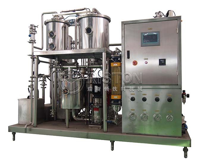 Plastic Bottle Carbonated Beverage Filling Machine